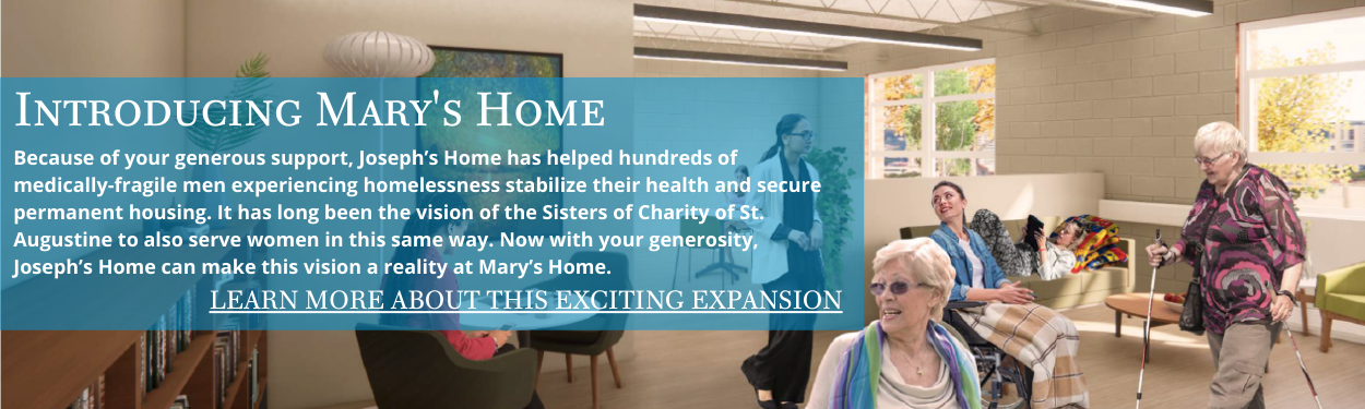 Mary's Home Web Announcement